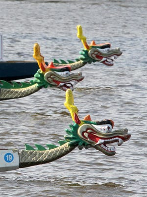 Dragon boats will be out in force on the Fox River on Saturday morning near CityDeck for a Boys & Girls Club of Greater Green Bay fundraiser.