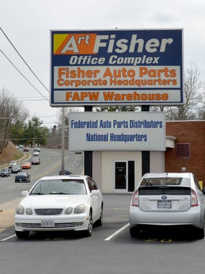 Fisher Auto Parts' corporate headquarters located on Greenville Avenue in Staunton.