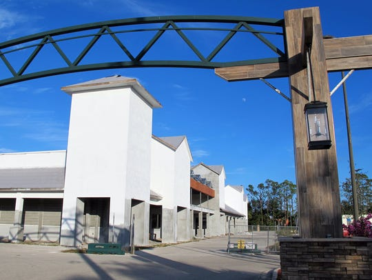 Work is progressing on Oakes Farms' Seed to Table store