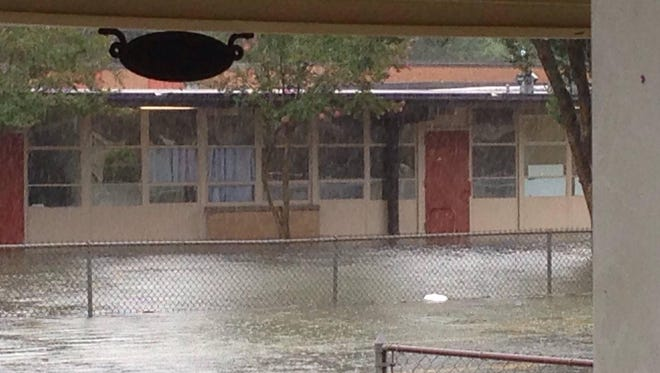 Westside Elementary School in Scott, Louisiana, sustained significant flood damage during the August 2016 deluge.