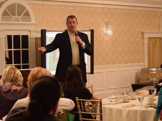 "Former U.S. congressman and former professional football player Jon Runyan of ""SNJ Business People"" was the guest speaker at the Marketing and Financing Main Streets Through the Heartland luncheon."