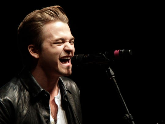 Hunter Hayes performs at the Nashville Songwriters Hall of Fame Dinner and Induction Ceremony at the Music City Center on Sunday, Oct. 11, 2015, in Nashville, Tennessee.