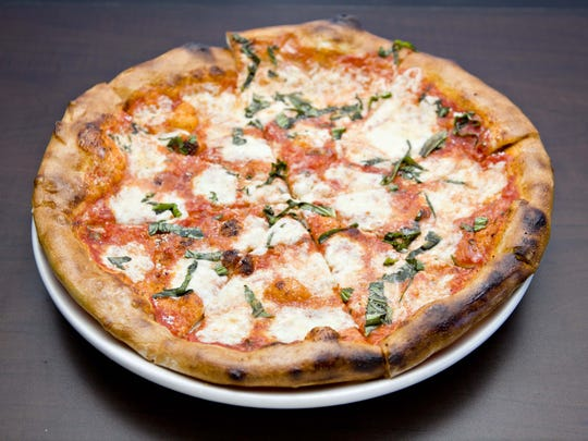 The margherita pizza from Nook Kitchen.
