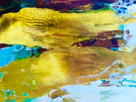"""Gail Salzman's """"Tidal Gift"""" is among the works featured"""