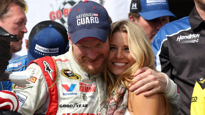 Dale Earnhardt Jr. proposed to longtime girlfriend Amy Reimann in Germany this week.