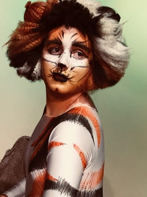 "Regina Frost is playing Mungojerrie in StarStruck Academy & Theatre's production of ""Cats."""
