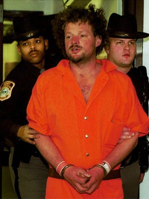 Mark T. Zawhorodny after being found not guilty by reason of insanity for the slaying of two relatives in 2000.
