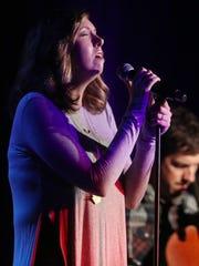 Francesca Battistelli performs at the 2016 ASCAP Christian
