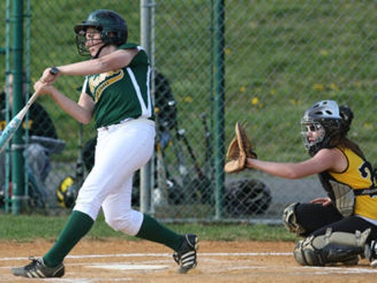 J.P. Stevens' Paige Sklar ties the game 3-3 with an