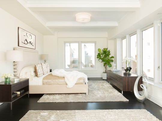Penthouse 27 in the Trump Park Avenue building decorated by Monique Breaux owner of POSH Exclusive Interiors.