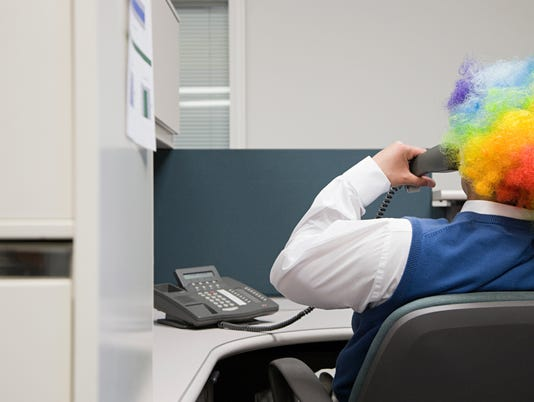 Office clown