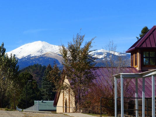 sierra blanca costed in snow