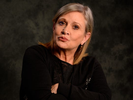 'Star Wars: The Force Awakens' actress Carrie Fisher
