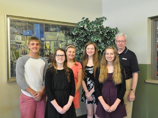 2015 Lomira HS Scholarship Recipients