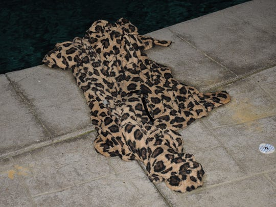 Samira Frasch was wearing this robe when her body was pulled by firefighters out of the pool.