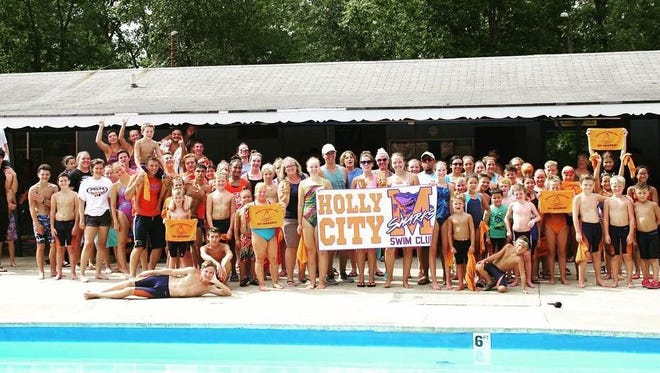 The Holly City Swim Club Sharks won their first Olympic Meet championship on Saturday.