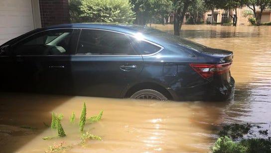 Flooding in Katy, Texas