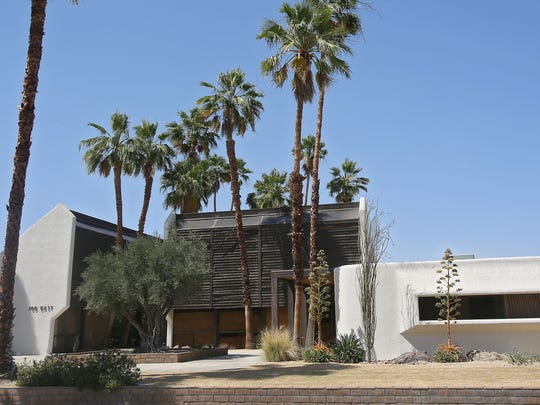 The office building at 700 E. Tahquitz Canyon Way is part of the site for the proposed Aberdeen project. Palm Springs International Film Festival organizers fear losing a nearby public parking lot they rely on that could go away if Aberdeen is built.