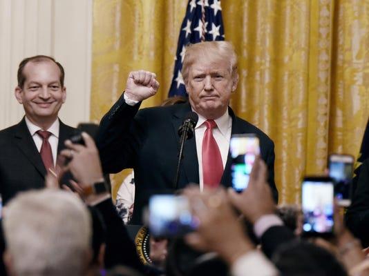 President Trump Hosts Hispanic Heritage Month Celebration At The White House - DC