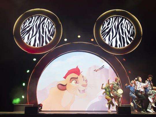 """""""Disney Junior Dance Party On Tour"""" includes segments"""