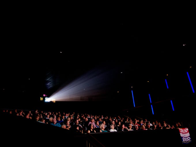 Hundreds of audience members watch the first Phoenix-area