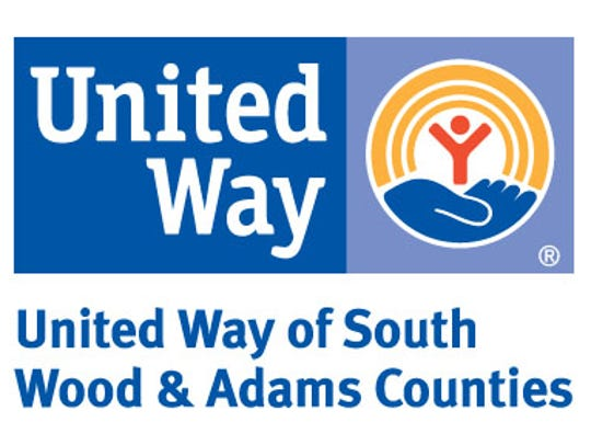 United Way of South Wood & Adams Counties' new logo