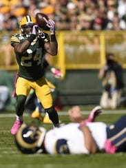 Green Bay Packers cornerback Quinten Rollins could