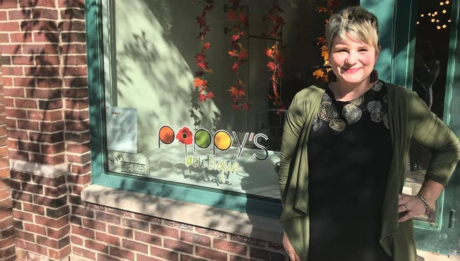 Raissa Dupuis will open Poppy's Boutique to the public for the first time on Oct. 28.