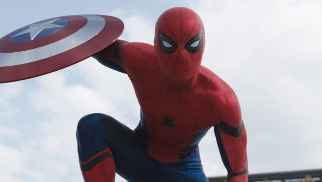 Tom Holland made his debut as Spider-Man in this year's 'Captain America: Civil War.'