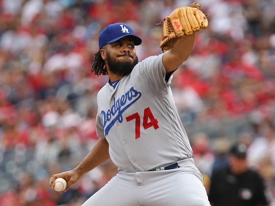 Kenley Jansen has converted 35 of 36 save chances.