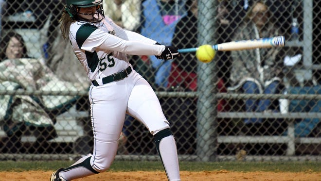 Kelly Bishop of Viera drives the ball during Tuesday's game against Bayside.