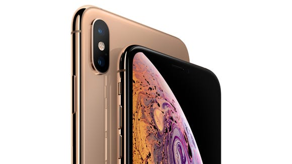 Gold iPhone XS and XS Max