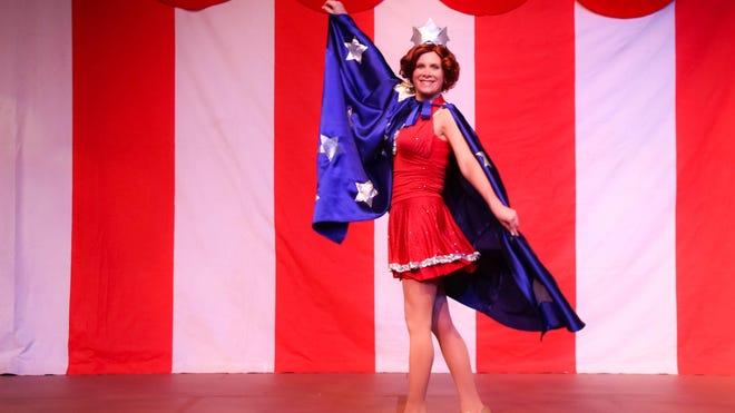 "Jessica Wilkinson portrays Carnelle Scott in ""The Miss Firecracker Contest."""