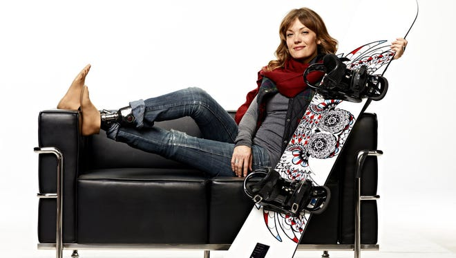 Amy Purdy is a Paralympic snowboarder for Team USA.
