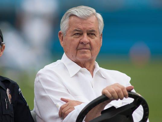 USP NFL: PRESEASON-BUFFALO BILLS AT CAROLINA PANTH S FBN USA NC
