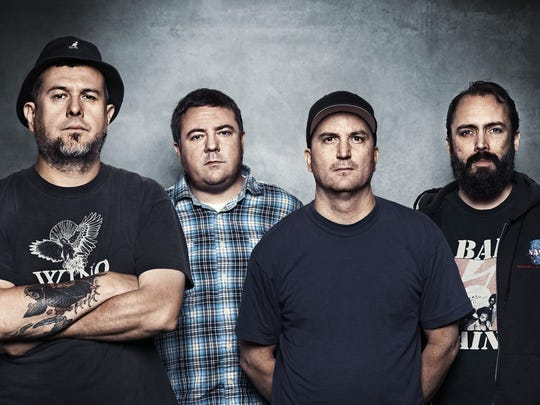 Hard-rock band Clutch, from left: Jean-Paul Gaster, Tim Sult, Dan Maines and Neil Fallon.