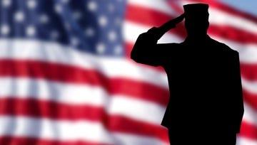 Veteran salute.