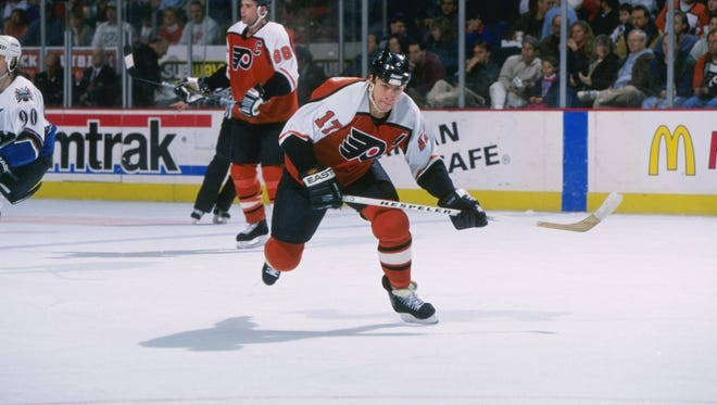 Rod Brind'Amour will be inducted into the Flyers Hall of Fame Monday night against the Carolina Hurricanes.