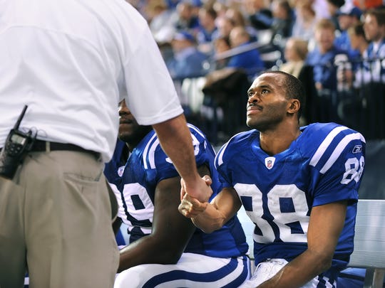 Marvin Harrison retired the Colts' all-time leader