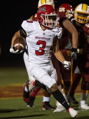 Brandon Armstrong and Westerville South will try to move to 4-0 when they square off against Delaware on Friday, Sept. 18.