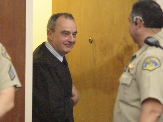 Judge Ronn Couillard appears at the Tulare County Superior Court in 2006.