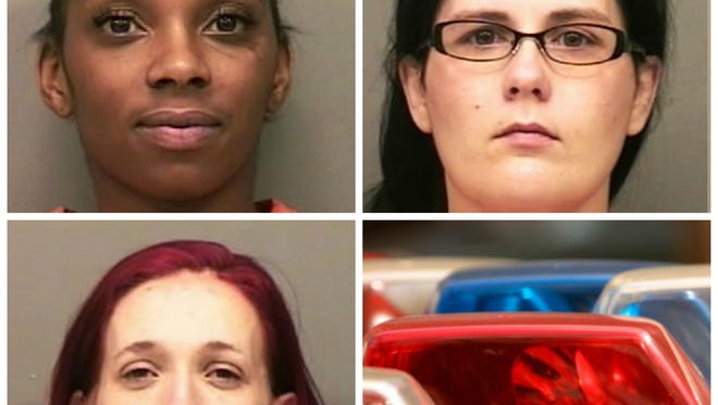 Alexander, Ferrell and Ford facing prostitution charges in Clarksville.
