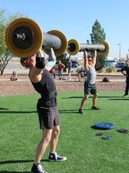 The annual Strongman and Strongwoman Competition will