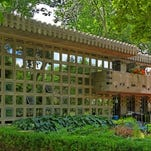 The proprietors of the Blossoms Shop in Birmingham, Dale Morgan and his partner, Norman Silk, spent the last 4 years restoring one of the most famous houses in the world. The Frank Lloyd Wright designed Dorothy Turkel House has been featured in two movies, Batman and Sparkle.