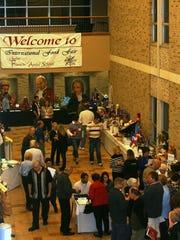 File - A previous International Food Fair.