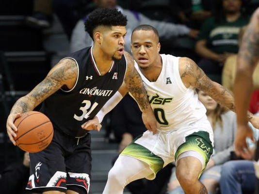 NCAA Basketball: Cincinnati at South Florida