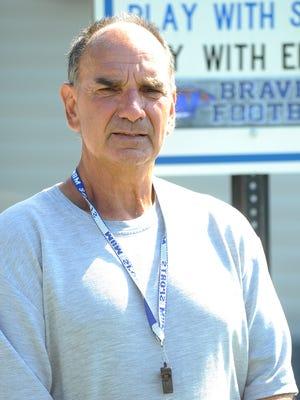 Williamstown football coach Frank Fucetola