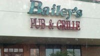 Bailey's Sports Grille, formerly Bailey's Pub & Grille, has closed in Canton.