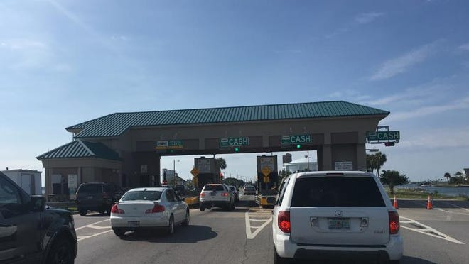 Escambia County Commissioners are looking to transition the Bob Sikes Bridge toll plaza to a fully-automated system where drivers without a SunPass will be tolled by plate and receive a bill for their use of the bridge each month.