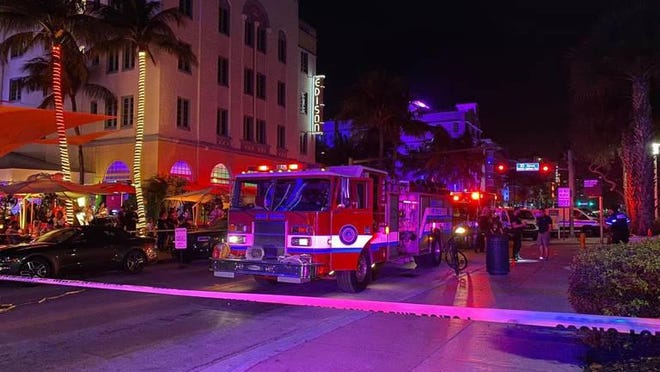 Miami Beach police said Saturday night there was an officer involved shooting at 10th Street and Ocean Drive.